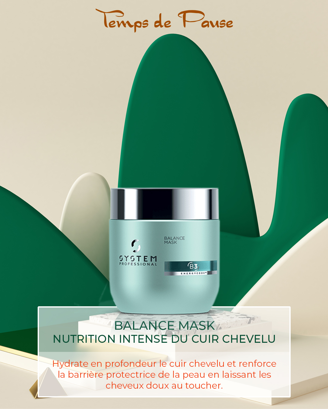 Nutrition intense du cuir chevelu