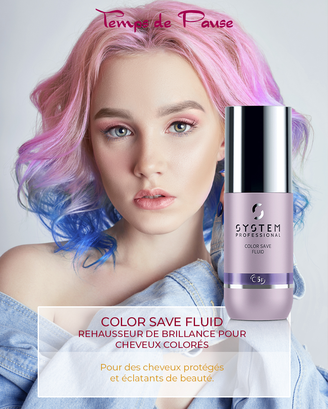 FLUID COLOR SAVE - Rehausseur de brillance pour cheveux colorés