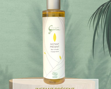 Huile Instant présent bain d'huile végétale bio