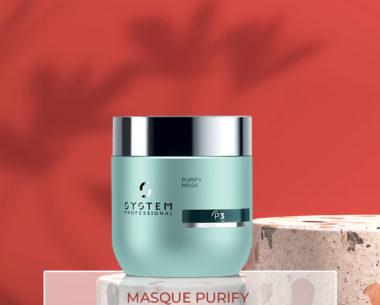 MASQUE Purify - Soin antipelliculaire intense régulateur