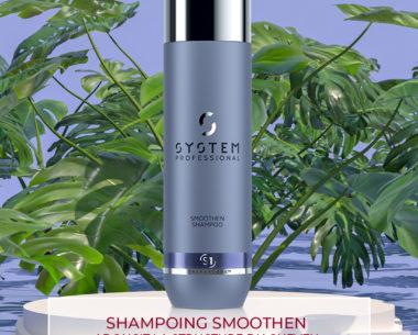 SHAMPOINGSMOOTHEN - Adoucit la structure du cheveu